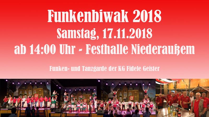 Funkenbiwak 2018